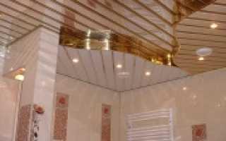 Плюсы и минусы реечных потолков