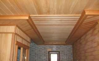 Планкен как вариант подшивки потолка