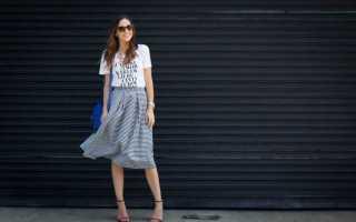Как сшить юбку без выкройки для начинающих