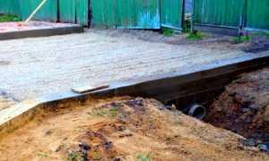 Вход в котлован и выход на участок: выполнение и строительство своими руками