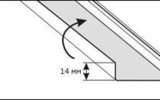 Крепление реек к стрингеру