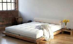 Традиционные кровати в японском стиле, особенности дизайна