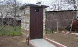 Кирпичный туалет: чертежи, как построить, недостатки
