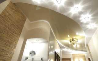 Монтаж точечных светильников в гипсокартонный потолок