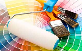 Водоэмульсионная акриловая краска для потолков «Строитель»