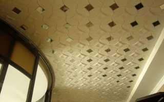 Разметка потолка комнаты под полистирольную плитку