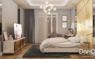 Освещение потолка в спальне