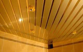 Сборка и монтаж подвесного реечного потолка своими руками