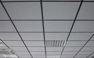 Расчет потолка Армстронг
