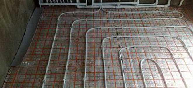 Гидравлический теплый пол из полипропилена: от выбора схемы до монтажа своими руками