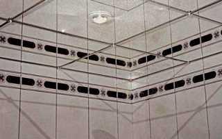Выбор зеркального потолка в ванную
