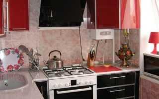 Кухня в блоке 5 кв