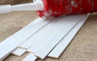 Как закрепить пластиковые листы к гипсокартону: видео