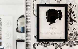 С визитом Джанет Риса: модные монохромные интерьеры