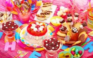 Как украсить столик на день рождения для ребенка: фотографии, фильмы, идеи