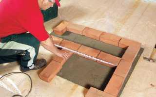 Схемы печей для дома из кирпича