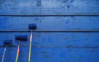 Клей-краска: виды и техника нанесения