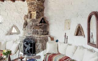 Гостиная в греческом стиле