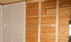 Деревянный каркас для монтажа гипсокартона