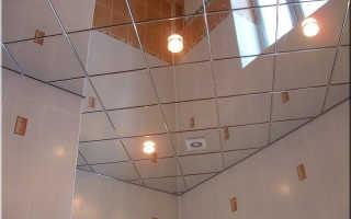 Зеркальный потолок своими руками. Монтаж на саморезы