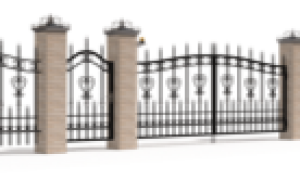 Кованые заборы