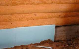 Утепление подвала в деревянных домах: материалы и нюансы