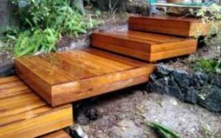 Как сделать лестницу на откос своими руками: из дерева, бетона и других материалов