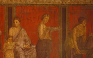 Красные фрески Помпеев изначально были жёлтыми