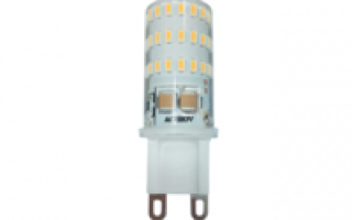 Светодиодная лампа G9 11W 220V Plastic