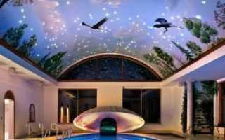 Пример 3D потолка