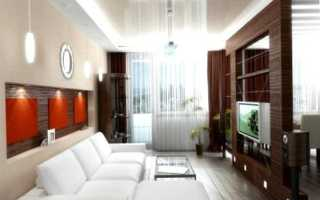 Сочетание гипсокаторна и натяжных потолков