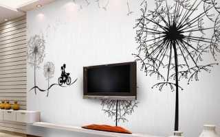 Акриловые краски для росписи стен и потолков